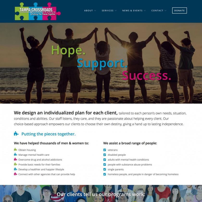 Content-Rich Website